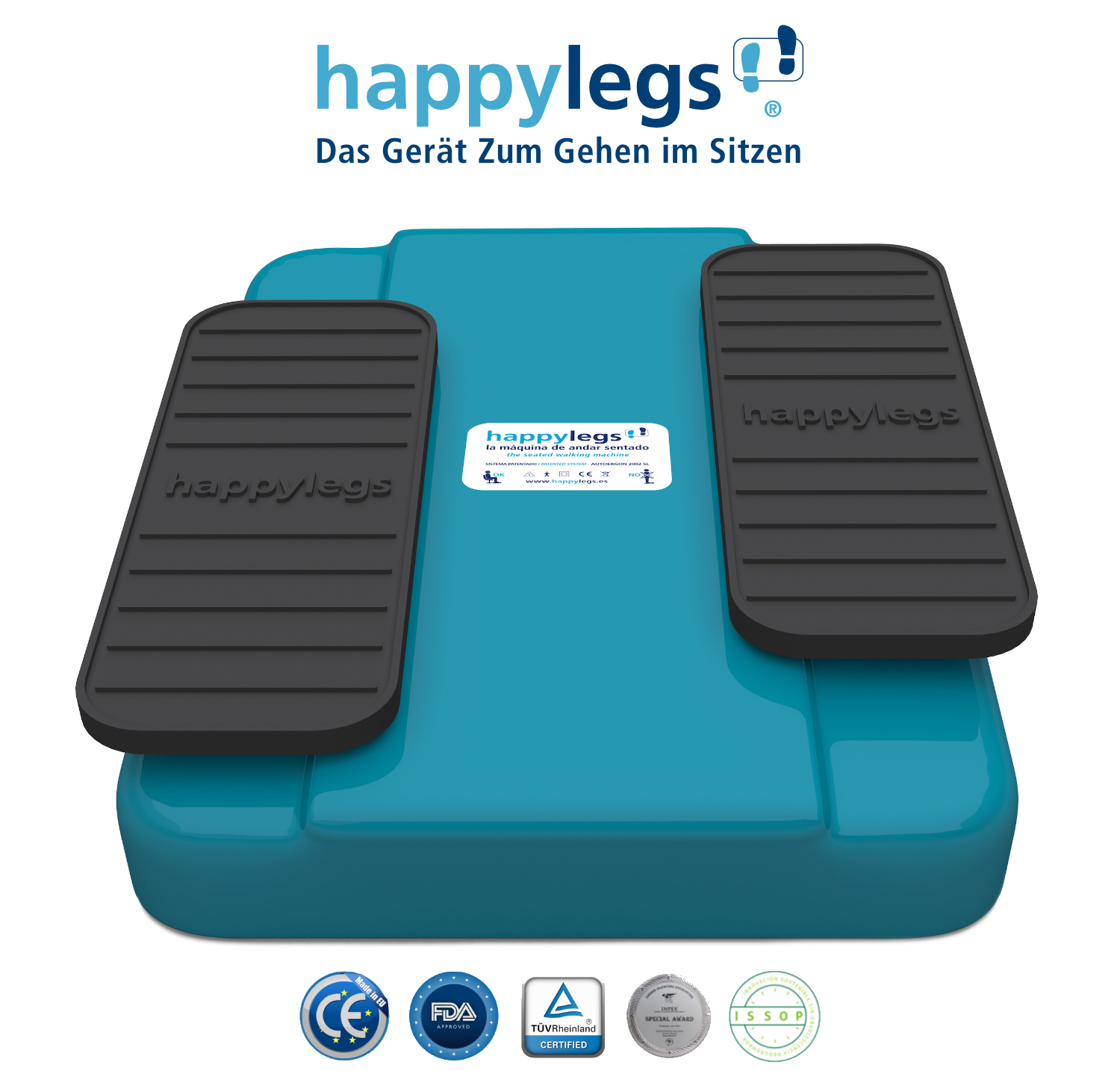 Happylegs Automatische Beintrainer